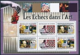 D- [400963] **/Mnh-Guinée 2006 - Les Echecs Dans L'art - Echecs