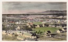 Whitehorse Yukon Canada, Panoramic View Of Town C1920s/40s Vintage Colorized Real Photo Postcard - Yukon