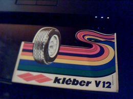 Autocollant  Publicite Pneus Klebber V2 - Stickers