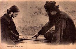 *CPA - GRECE - SALONIQUE - Moines Grecs Jouant Le Tilla - Grèce