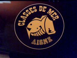 Autocollant  Publicite Classe De Mer De L Aisne - Stickers