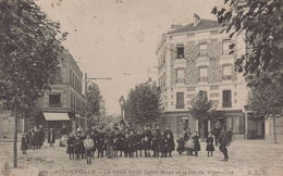 Alfortville : Le Rond Point Victor Hugo Et La Rue De Villeneuve - Alfortville