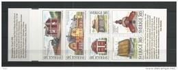 1996 MNH Schweden, Sweden, Sverige, Booklet, Postfris - Carnets