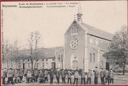 Ruysselede Ruiselede Weldadigheidschool Voornaamsteplaats Kapel La Chapelle Geanimeerd Zeldzaam (Kreuk) - Ruiselede