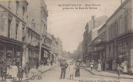 Alfortville : Rue Véron Prise De La Rue De Seine - Alfortville
