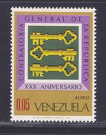 VENEZUELA AERIENS N°  950 ** MNH Neuf Sans Charnière, TB (D5161) Clés Historiques, Controle Général - Venezuela