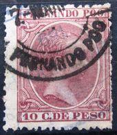 FERNANDO POO             N° 16                 OBLITERE - Fernando Poo