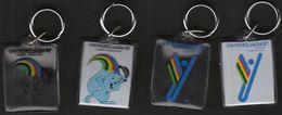 Universiade, Universiada Zagreb 1987 Croatia / Sport / Keyring, Keychain, Key Chain / Mascot ZAGI - Other