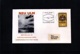 Deutschland / Germany 1978 Hermann Koehl Interessanten Brief - Airplanes