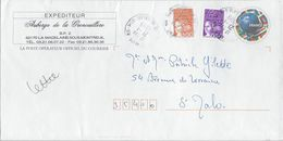 Football Coupe Du Monde 98 Repiquage Auberge De La Grenouillère La MAdelaine Sous Montreuil Cachet Montreuil Sur Mer 99 - PAP : Altri (1995-...)
