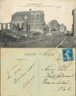 D- [508461] Carte-France  - (62) Pas-de-Calais, Laventie, La Rue De L'Enfer Et Les Anciennes Ecoles,Ruine, Ecoles - Laventie