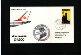 Deutschland / Germany 1978 Korean Airlines Airbus In Lemwerder - Airplanes
