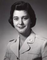 Orlando AFB Base Militaire Aerienne Portrait Femme Militaire Ancienne Photo 1960's - War, Military