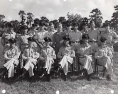 Orlando AFB? Base Militaire Aerienne Portrait De Groupe Militaires Ancienne Photo 1960's - War, Military