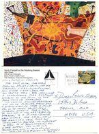 Australia 1980's Postcard John Olsen Art Painting, Scott 918 Regal Angelfish - Paintings