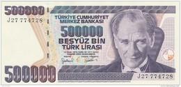 TURCHIA 500000 LIRAS -UNC - Turkey