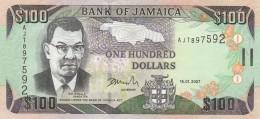 JAMAICA 100 DOLLARS -UNC - Jamaica