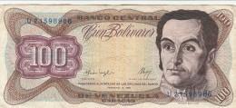 VENEZUELA 100 BOLIVARES 1987 - EF (BA26 - Venezuela