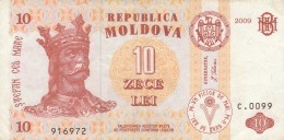 MOLDOVA 10 LEI -VF (BA181 - Moldavia