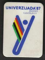 Universiade, Universiada Zagreb 1987 Croatia Yugoslavia / Sport / Pin, Badge, Badges / - Badges
