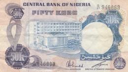 NIGERIA 50 KOBO -VF (BA190 - Nigeria