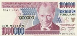 TURCHIA 1000000 LIRAS -UNC - Turkey