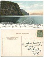 Canada 1905 Postcard Cape Eternity & Trinity, Chicoutimi Quebec To Lake George NY - Quebec