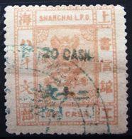CHINE SHANGHAI                  N° 62                OBLITERE - China