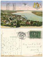 Canada 1927 Postcard Queenston & Lower Niagara, Niagara Falls To U.S., Scott 142 - Niagara Falls