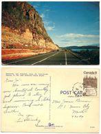 Canada 1970 Postcard Trans-Canada Highway 17, Schreiber Ontario Split-ring Postmark - Ontario