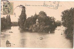 France & Marcofilia, Paris, Le Lac Du Bois De Boulogne, Firense Italy 1916 (31) - France