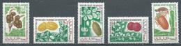 Mauritanie YT N°241/245 Fruits Neuf ** - Mauritania (1960-...)