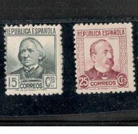 Spain1933-5:Edifil 683,685 Mnh** - Emisiones Nacionalistas