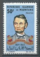 Mauritanie YT N°192 Président Abraham Lincoln Neuf ** - Mauritania (1960-...)