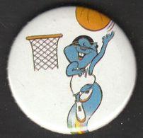 Universiade, Universiada Zagreb 1987 Croatia Yugoslavia / Sport / Pin, Badge, Badges / ZAGI Basketball Player - Badges