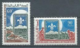 Mauritanie YT N°232/233 Jamborée Mondial D'Idaho Scoutisme Neuf ** - Mauritania (1960-...)