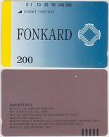 189/ Philippines; Fonkard 200, Very Rare - Philippines