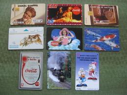 LOT DE 70 TELE CARDS ( 4 Scans ) - Lots - Collections