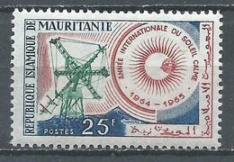 Mauritanie YT N°178 Année Internationale Du Soleil Calme Neuf ** - Mauritania (1960-...)