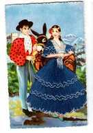 Carte Brodées * édition Postale Ceme Madrid   * écrite - Embroidered