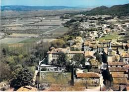 13 - LA ROQUE D'ANTHERON Vue Aérienne Centre Ville - Chateau Centre Médical Et Diététique CPSM GF 1982 - Bouches Rhône - Autres Communes