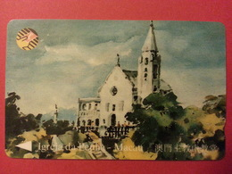 Macao MOP100 CTM Igreja Da Penha Macau SN 9MACC état Courant - Macau
