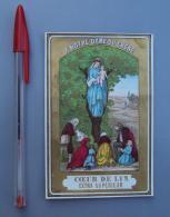 Textile 043, Etiquette Chromo Litho, Fil CÂœur De Lin, A Notre Dame Du Chene Sarthe - Labels