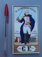 Textile 052, Etiquette Chromo Litho, CF, Fil Au Chevalier D'Assas, Auvergne - Labels