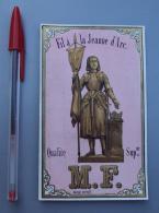 Textile 064, Etiquette Chromo Litho, L Danel & Lille, MF Fil A La Jeanne D'Arc - Labels