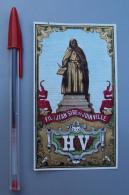 Textile 071, Etiquette Chromo Litho, L Danel & Lille, HV Fil à Jean Sire De Joinville - Labels