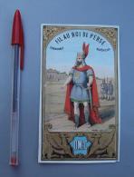Textile 072, Etiquette Chromo Litho, L Danel & Lille, DM & C, Fil Au Roi De Perse, état - Labels