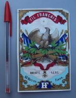 Textile 075, Etiquette Chromo Litho, L Danel & Lille, HF, Fil Français, état - Labels