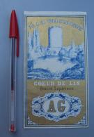 Textile 076, Etiquette Chromo Litho, Lille, AG Fil De Lin à La Tour D'Issoudun - Labels