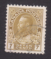 Canada, Scott #113, Used, George V, Issued 1911 - 1911-1935 Reign Of George V